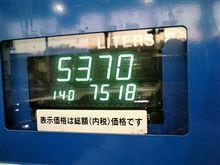 燃費の記録簿(88回目)