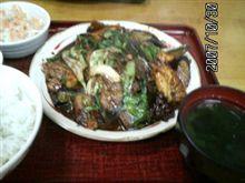 牛肉ナス味噌炒め