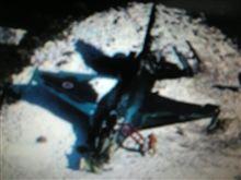 F2戦闘機が墜落・・。