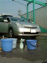 洗車してきました