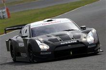 2008年スーパーGTニューマシン日産GT-Rがシェイクダウン。