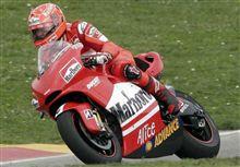 M.シューマッハ、MotoGPテストに参加し好タイムをマーク