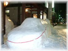 雪ダルマの大敵