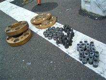 タイヤ交換④