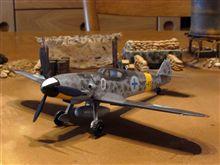 ▽青いスワチカ Bf109G-6フィンランド空軍