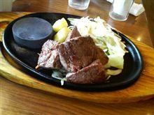 今日のランチ「ステーキのどん」