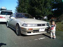 ソアラ 3.0GT-LTD  18インチ:スタッドレス 車高が異常・・・。