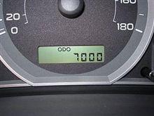 走行距離7,000Km到達