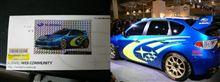 WRCコンセプトのシール