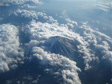 富士山を上から眺める・・・