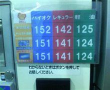 ガソリン地域価格