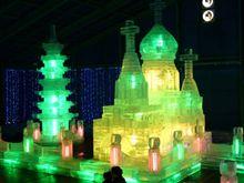 白樺湖氷燈祭