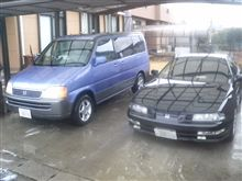 洗車収め!