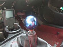 MIYAのインテ日記 ~07'Specを振り返る その15 J's RACING チタンシフトノブ(ブルー)