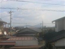 寒波ですが岡山は晴れています。