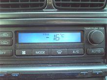寒いです。かなり冷え込みました・・・
