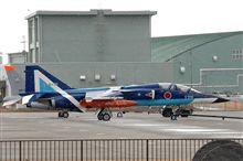 雪降る中のT-2ブルー♪
