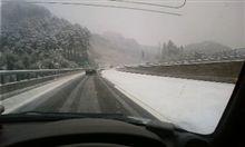 Copenで雪道