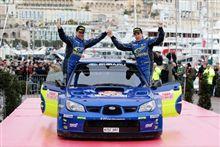 WRC開幕戦・モンテカルロ・アトキンス3位!