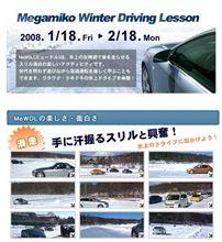 氷上ドライブ!
