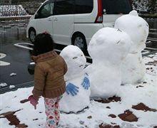 雪遊び・雪景色