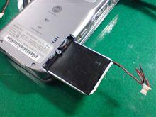 PDAのバッテリーが逝きました