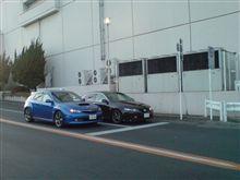好きな車が2台並んだ。
