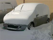週末の福島(あだたら)の積雪・・・