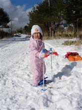 雪を探して40分!