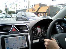 初ドライブ!