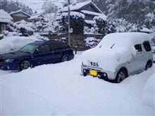 久々の大雪!!