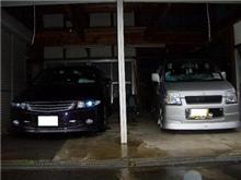 ひさしぶりの洗車!