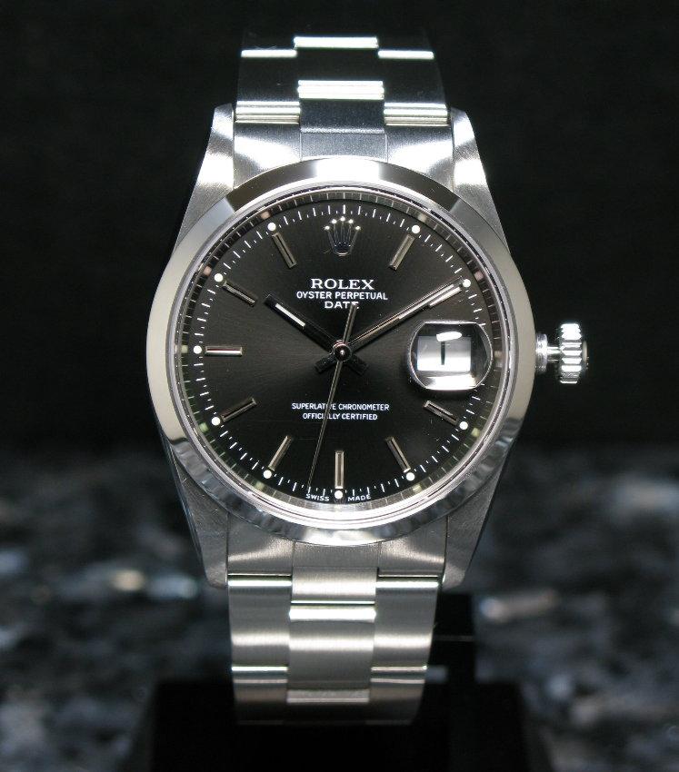 best website 39041 85a78 腕時計買いました♪ : ROLEX Oyster Perpetual Date Ref.15200 ...