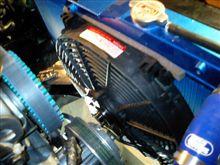 86アルミ製三層ラヂエター&強力電動ファン取付