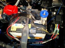 86強力電動ファンの配線取付&スイッチ作製