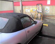 洗車、3ヶ月ぶりのホコリおとし