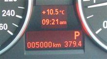 祝、5000km!