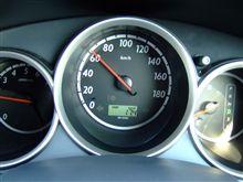 7年落ち10万㎞+走行ホンダフィットの燃費計値