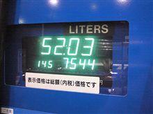 燃費の記録簿(98回目)
