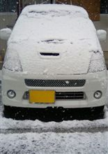 雪ですよ!!