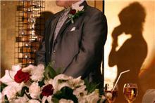 後輩の結婚披露宴に出席しました。