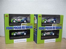 CM's FORD FOCUS RS WRC06 限定セット