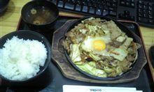 韓国風スタミナ焼肉定食