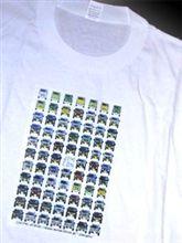 頭文字JオリジナルTシャツ差し上げます。