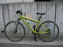 自転車で。。。