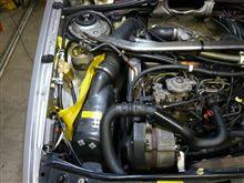エンジン・トラブル(燃料フィルターが詰まりました)