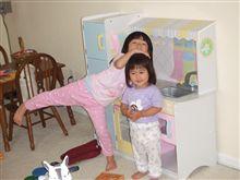 子供のキッチン