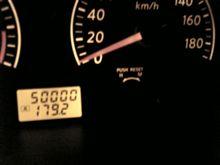 祝!50000キロ!!