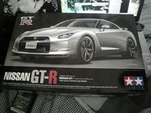 GT-Rプラモデル