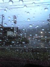 雨雨降れ降れ・・・